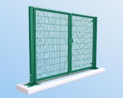 Ворота ограждения ТЕХНА  Класик - ЭКО